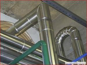 Isolamento em aluminio para tubulacao - Acusterm isolamentos termicos e acusticos Sao Paulo